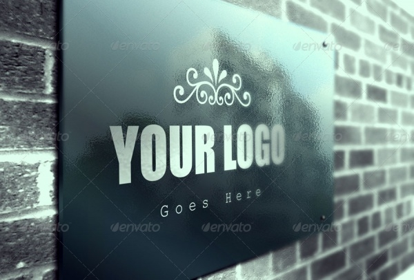 Logo Presentation PSD Mock-up