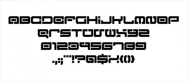Lost in Future Font of Adventure