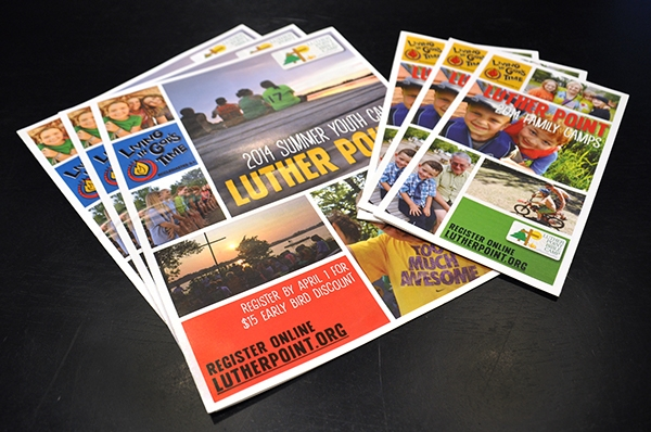 Luther Point Camp Summer Brochures