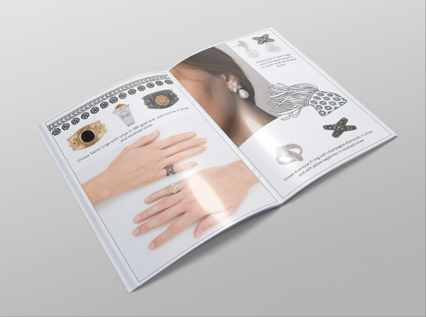 Luxury Brochure of Jewelry