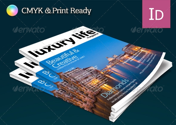 Luxury Life – Professional Magazine Template