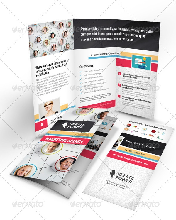 Marketing Advertising Company Brochure