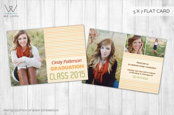 Marketing Board Graduation Announcement Card