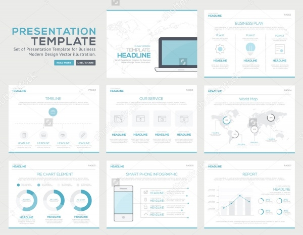 Marketing Infographic Presentation Template