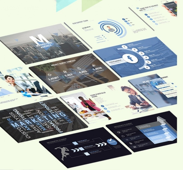 Marketing Pro Powerpoint Presentation Template