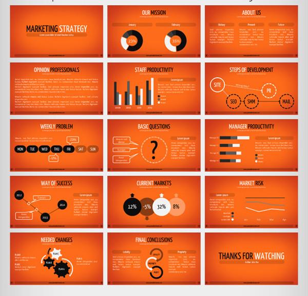 Marketing Strategy Presentation Keynote
