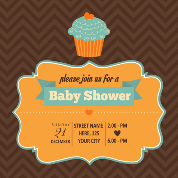 Marvelous Baby Shower Invitation