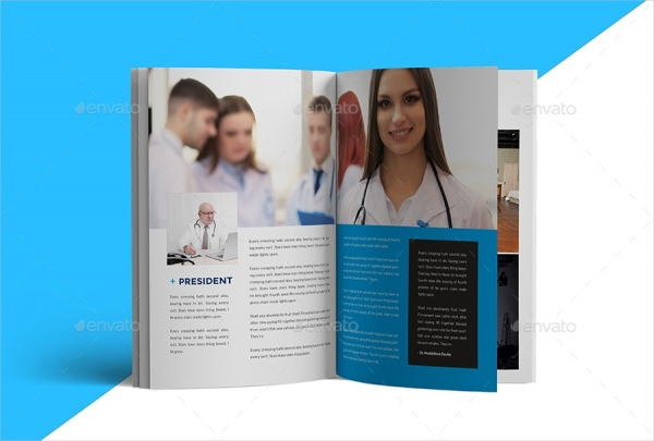 Medical Care and Hospital Brochure