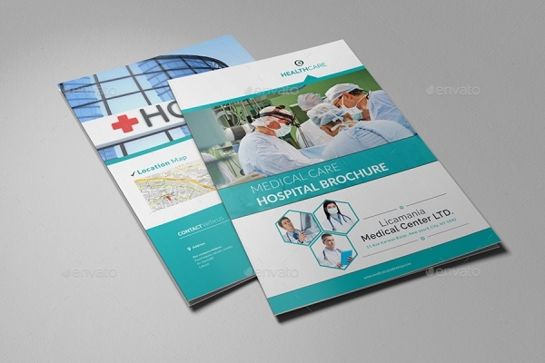 Medical Center Hospital Brochure Template