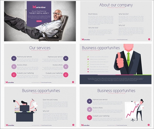 Mega Marketing Powerpoint Presentation