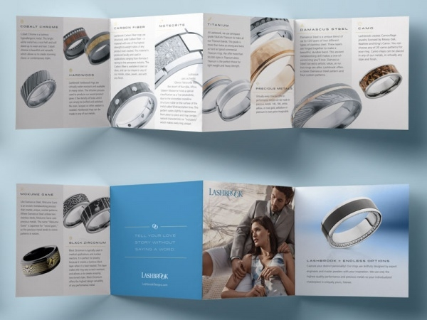 Meteorite Jewelry rings Brochure