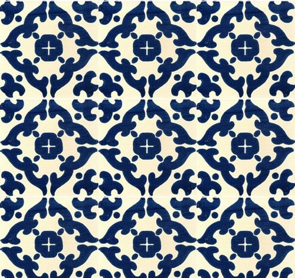 Mexican Talavera Tiles Pattern
