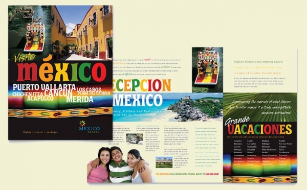 Mexico Holiday Travel Brochure