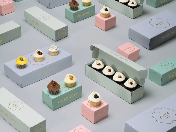 Mini Kute CupCake Packaging Design