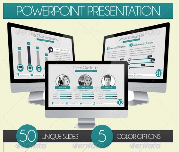 Minimal Design Powerpoint Presentation