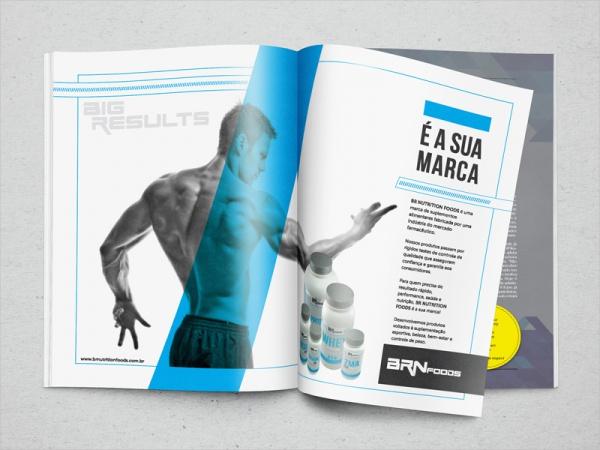 Minimal Fitness Conceptual Magazine