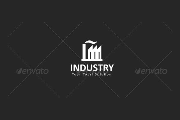 Minimalistic Industry Logo Design