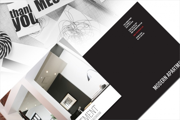 Modern Apartments InDesign Brochure