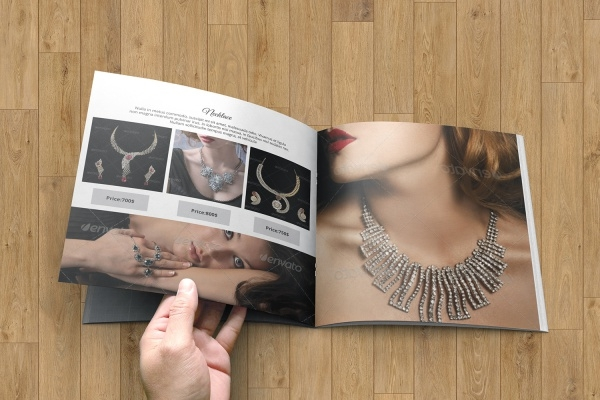 Modern Jewelry Brochure Design