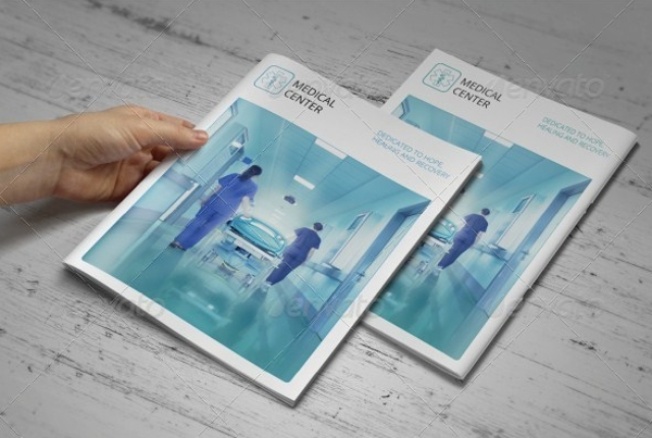 Modern Medical Hospital Brochure