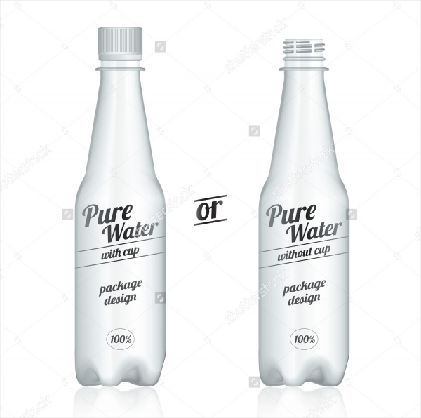 Modern Plastic Bottle Packaging Design