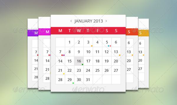Multiple Event Calendar