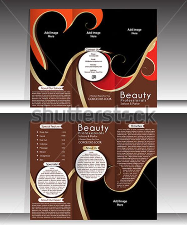 Multipurpose Beauty Studio PSD Brochure