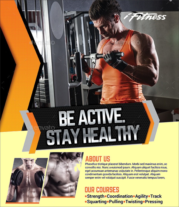 Multipurpose Fitness Active Flyer