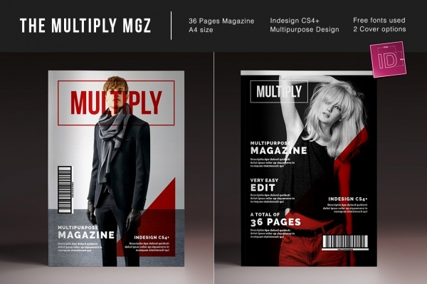 Multipurpose Professional Magazine Design Template