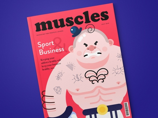 Muscles Sports Business Magazine