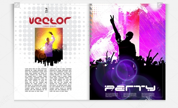 Music Event Magazine Template