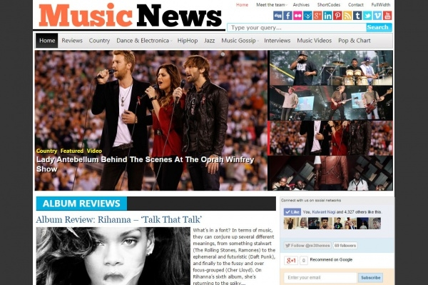Music News Music Magazine