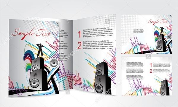 Musical Concept Brochure Design