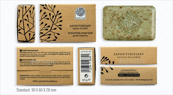 Natura Soap Packaging Design