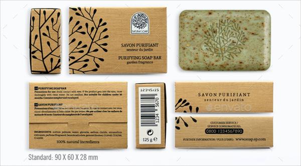 Natura Soap Packaging Design