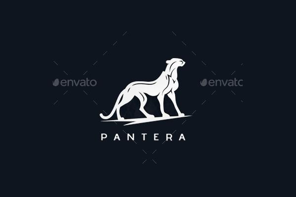 Negative Space Animal Logo