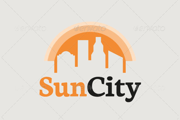 Negative Space City Logo
