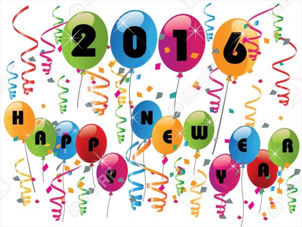 New Year Celebration Vector Illustration