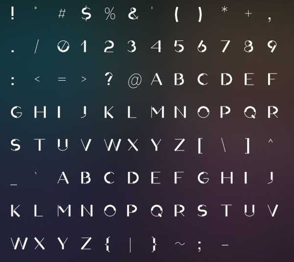 Night Disco Text Font