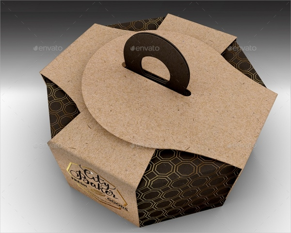 Octagon Cake Take Out Packaging
