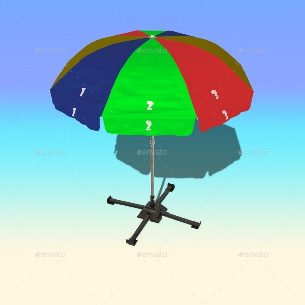 Outdoor Umbrella Mock-up