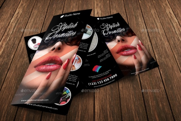 PSD Brochure for Cosmetic