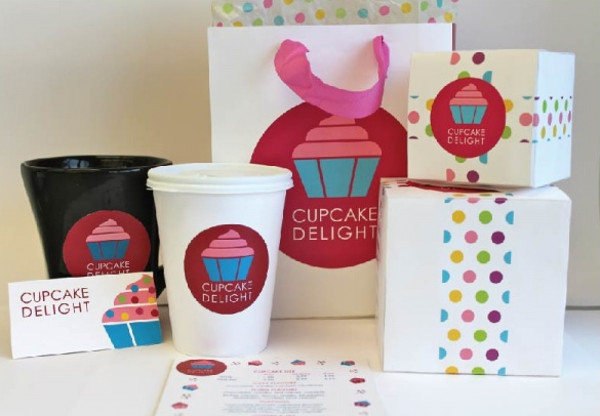 Packaging for Cupcake Design Food Truck