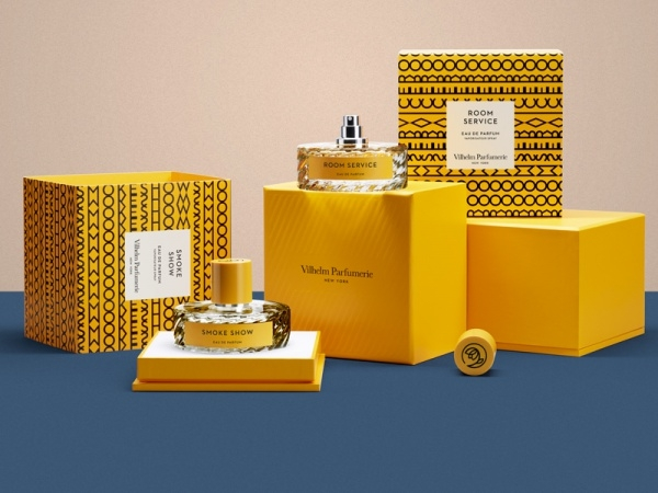 Packaging for Vilhelm Perfume