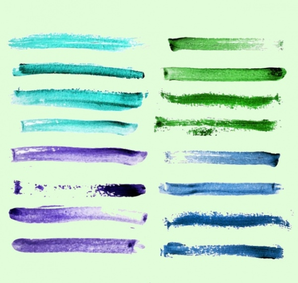 Painted Lines Stroke Brushes