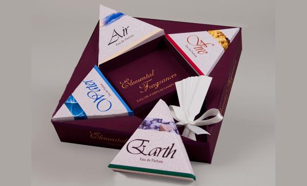 Perfume Sampler Box Packaging Design