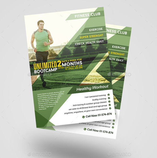 21 training brochure templates psd vector eps jpg for Personal brochure templates
