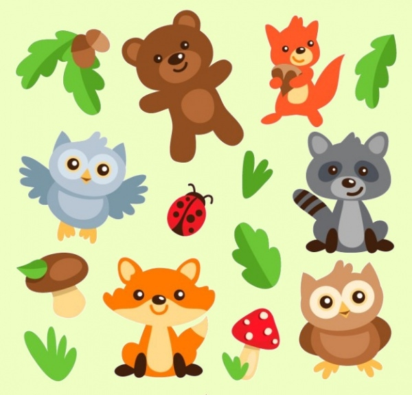 Pet Animals Cartoons Pack