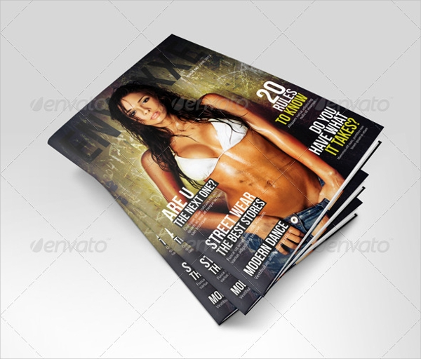 Photography Professional Magazine Design