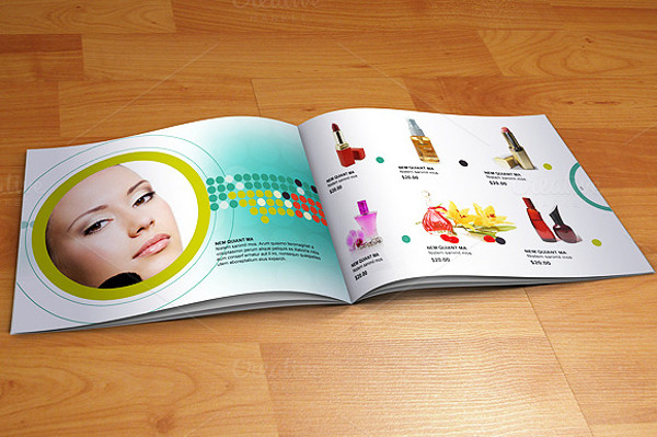 Photorealistic Cosmetic Brochure Design